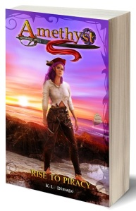 Book - 3D Amethyst Rise to Piracy