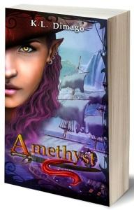 book - 3D Amethyst